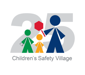Childrens Safety Village 25th Logo