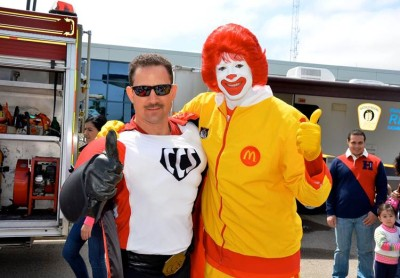 Ronald and Captain two